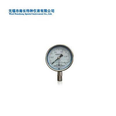 南长  不锈钢压力表  充油耐震  表径100  可配隔离体